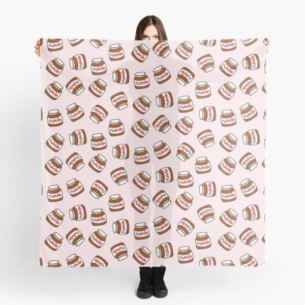 Cute Tumblr Nutella Pattern Pañuelo