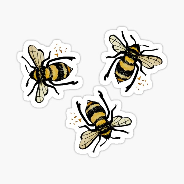 The Bees Knees Sticker