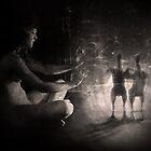 Ballet macabre by Andrea  Meléndez