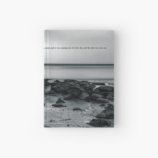 ...and the Tide Was Way Out. Hardcover Journal