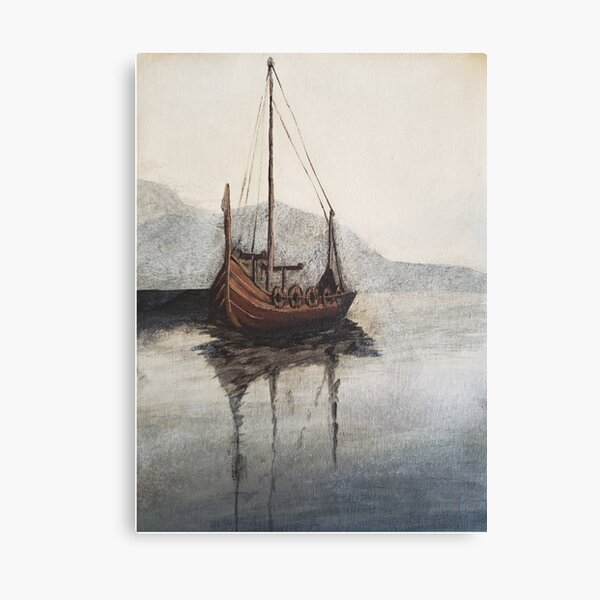Lonely Viking Canvas Print