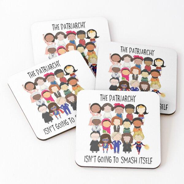 Smash the Patriarchy Coasters (Set of 4)