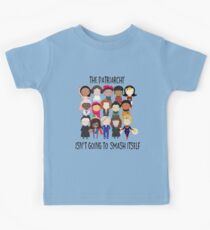 Smash the Patriarchy Kids T-Shirt