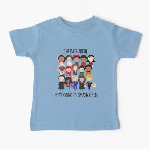 Aplastar el patriarcado Camiseta para bebés