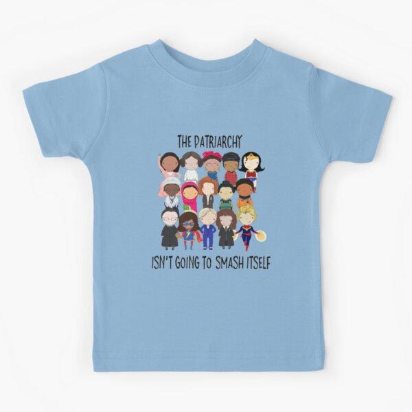 Aplastar el patriarcado Camiseta para niños