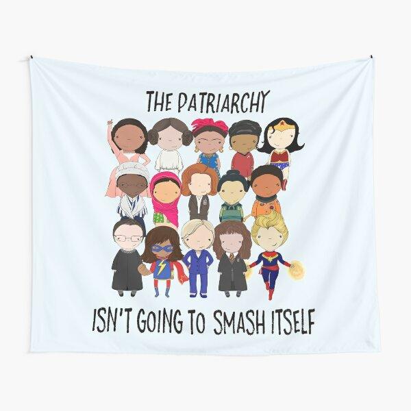 Smash the Patriarchy Tapestry