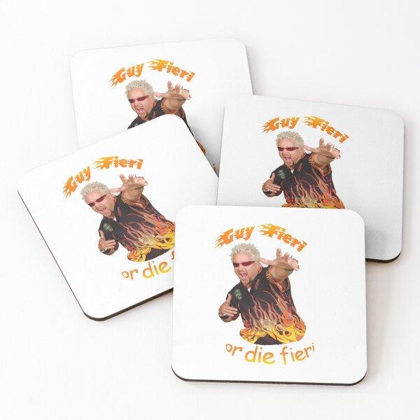 Guy Fieri or Die Fieri- Flavortown Edition Coasters (Set of 4)