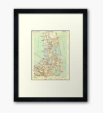 Massachusetts  USGS Historical Topo Map MA Orleans 352028 1944 31680 Framed Print
