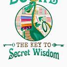 Books. The Key To Secret Wisdom Notebook: Dragons Like Reading by Maria Faith Garcia