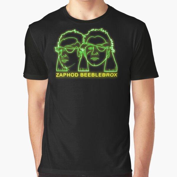 NDVH Zaphod Beeblebrox H2G2 Graphic T-Shirt