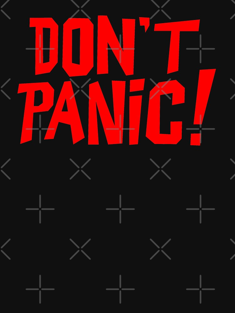 NDVH Don't Panic - Red 1 H2G2 by nikhorne