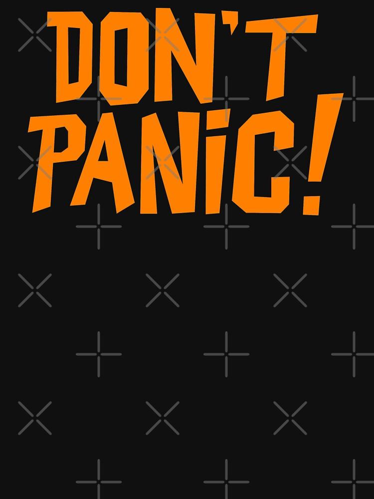 NDVH Don't Panic - Orange 1 H2G2 by nikhorne