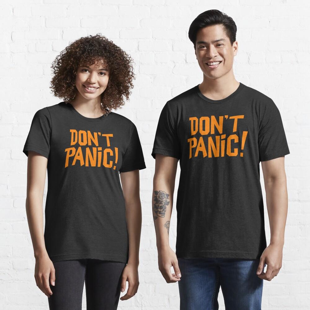 NDVH Don't Panic - Orange 1 H2G2 Essential T-Shirt
