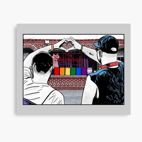 Stonewall Canvas Print