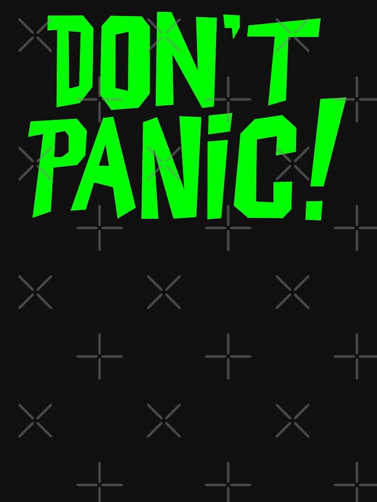 NDVH Don't Panic - Green 1 H2G2 by nikhorne