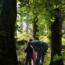Autumn exploring - Ballycuggaran Woods by Orla Flanagan