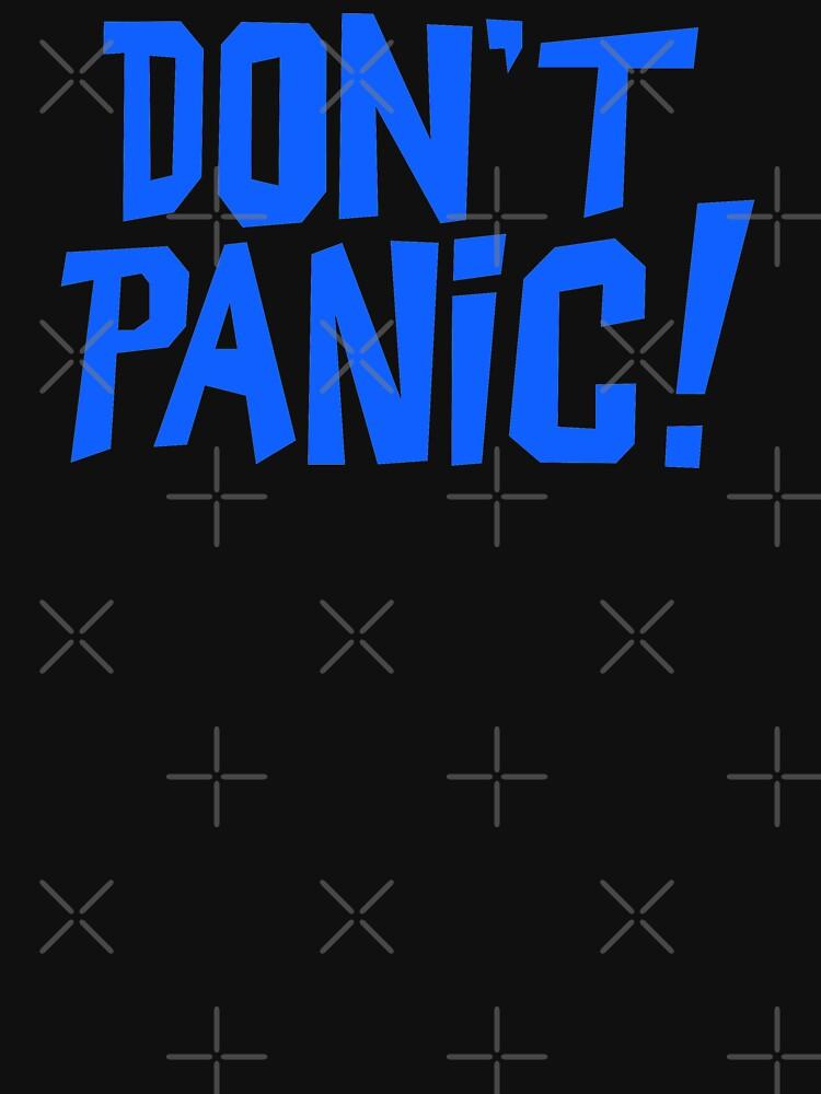 NDVH Don't Panic - Blue 1 H2G2 by nikhorne