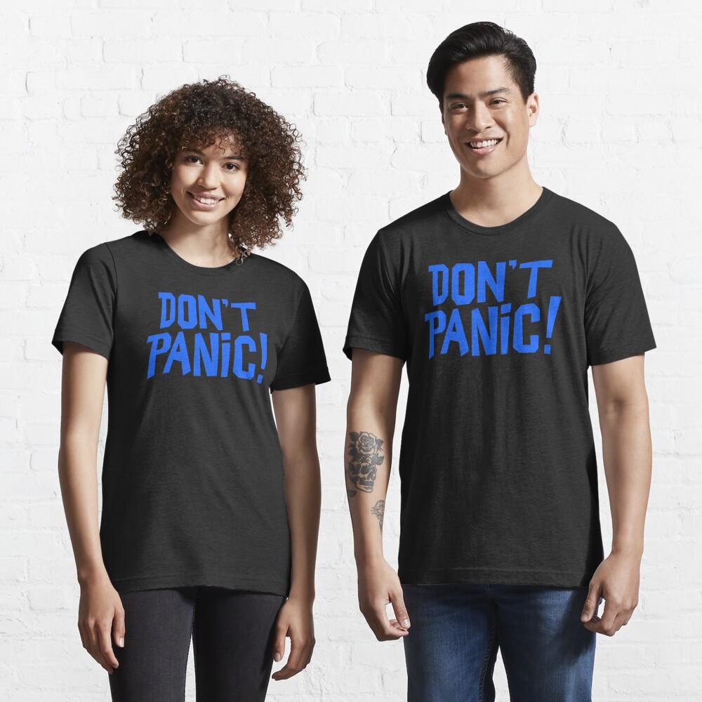 NDVH Don't Panic - Blue 1 H2G2 Essential T-Shirt