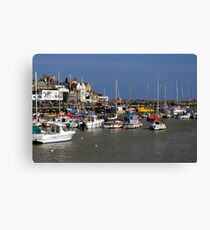 Bridlington Harbour Canvas Print