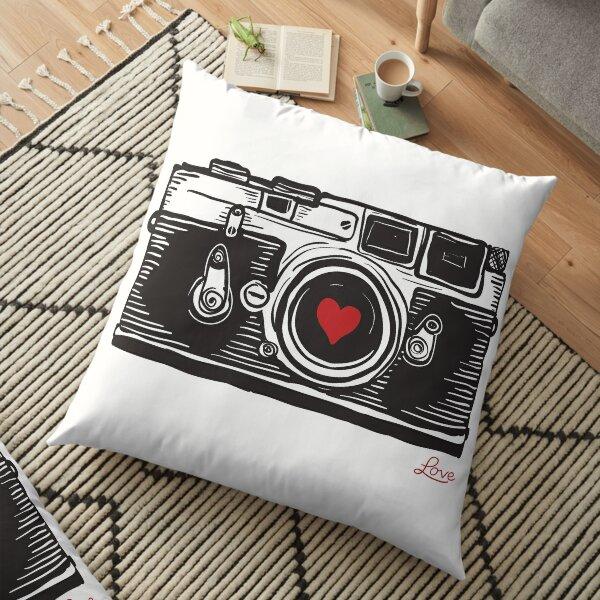 Leica Love! Floor Pillow