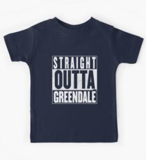 STRAIGHT OUTTA GREENDALE Kids Clothes