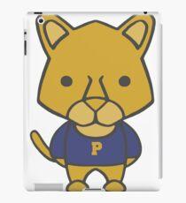 Panther Mascot Chibi Cartoon iPad Case/Skin