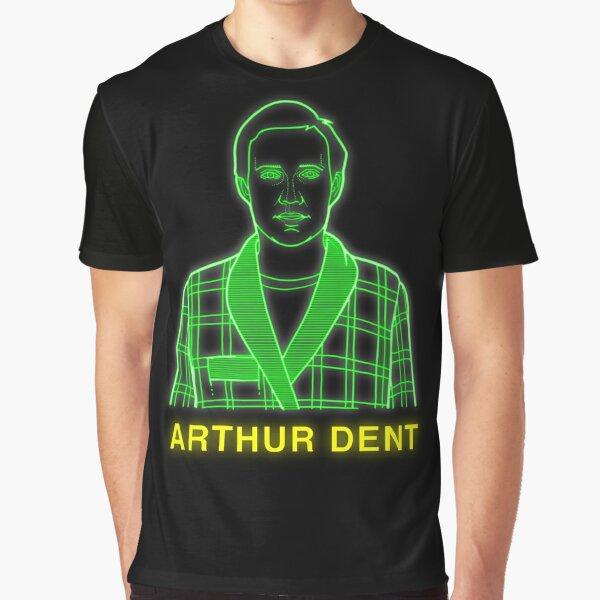 NDVH Arthur Dent H2G2 Graphic T-Shirt
