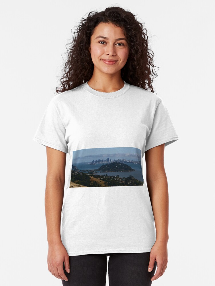 Alternate view of Looking to the City by the Bay from the North Classic T-Shirt