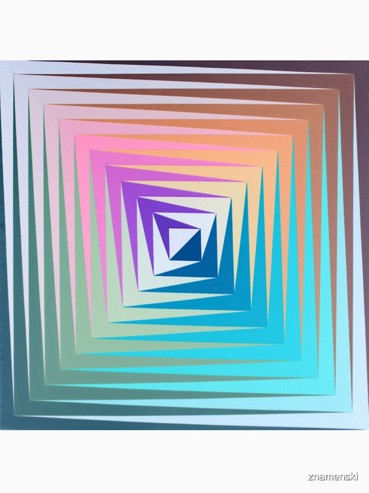 Victor #Vasarely, was a Hungarian-French #artist, who is widely accepted as a #grandfather and leader of the #OpArt movement by znamenski