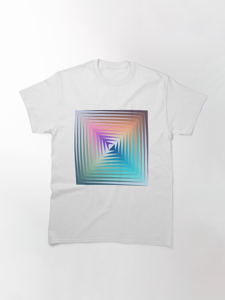 Victor #Vasarely, was a Hungarian-French #artist, who is widely accepted as a #grandfather and leader of the #OpArt movement: Classic T-Shirt