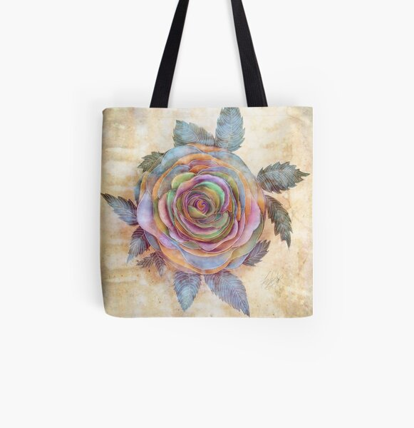The Friendship Rose II All Over Print Tote Bag