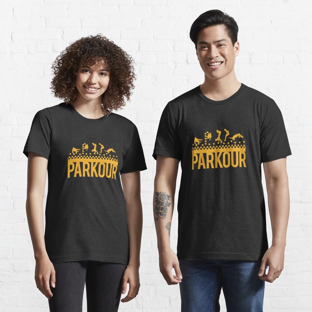 Print Wear Clothing The Evolution of Parkour Chandail /à Capuchon