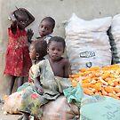 Harvest in A Rural village by joshuatree2