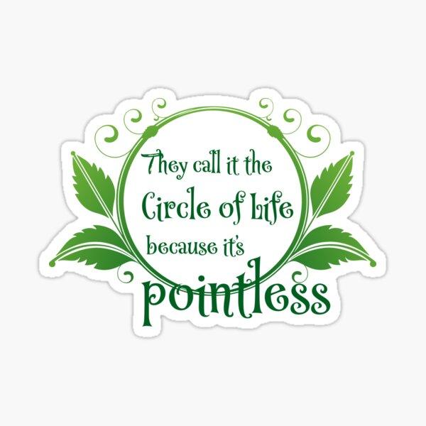 Pointless Sticker