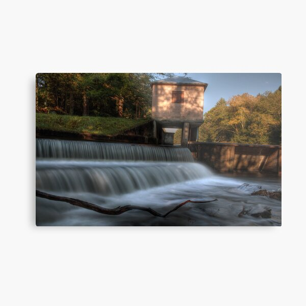 The Dam and Overflow Metal Print