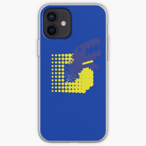 SLASH!! (Matrix Blue) iPhone Soft Case