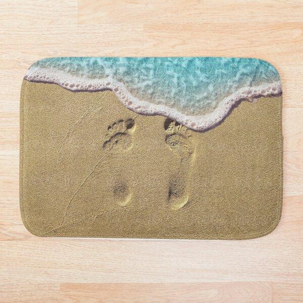 Beach Feet Bath Mat