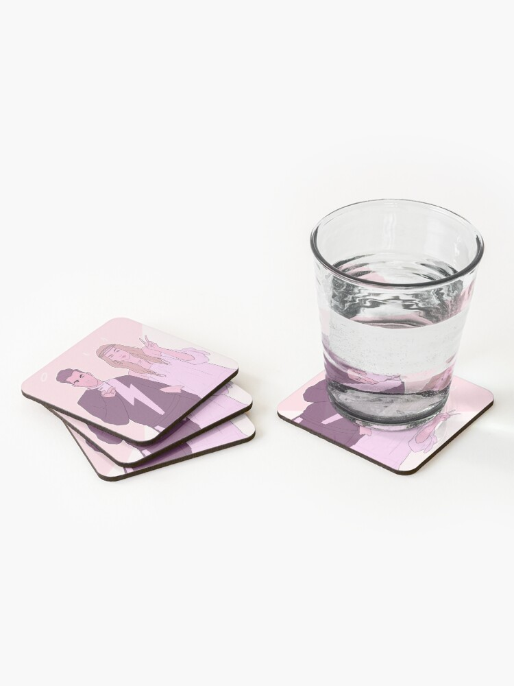 Alternate view of Those Rose Kids Coasters (Set of 4)