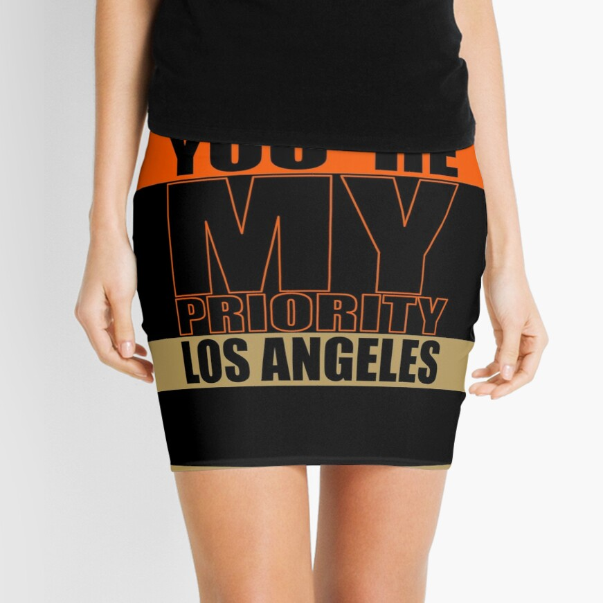 Los Angeles You are My priority fans sport Minirock
