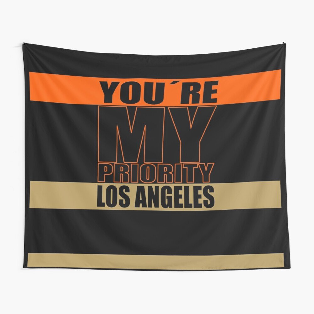 Los Angeles You are My priority fans sport Wandbehang