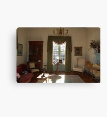 Stagecoach sitting room Canvas Print
