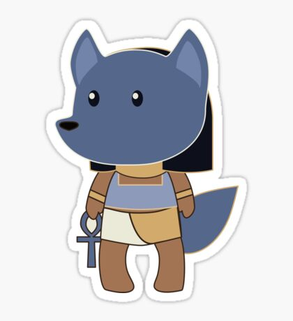 Tiny Anubis Sticker