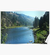 Clearwater River #2 Poster
