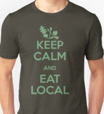 Eat Local Unisex T-Shirt