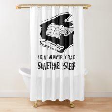 Piano Shirt - Piano Gifts - Piano Player Gifts Shower Curtain