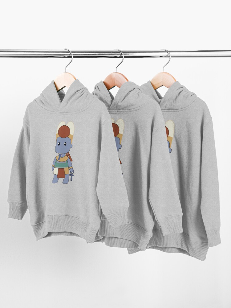 Alternate view of Tiny Amun Toddler Pullover Hoodie