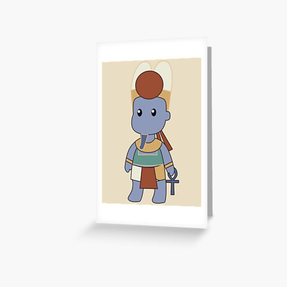 Tiny Amun Greeting Card