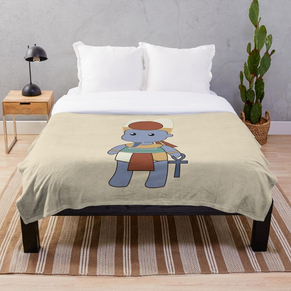 Tiny Amun Throw Blanket