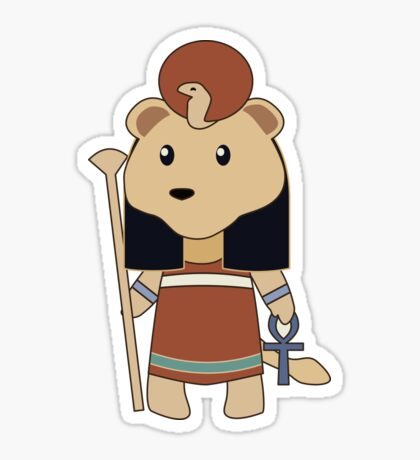 Tiny Sekhmet Sticker