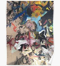 Non-Representational Art Hurts My Brain Poster